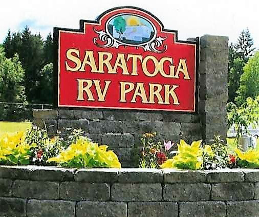 Saratoga Entrance